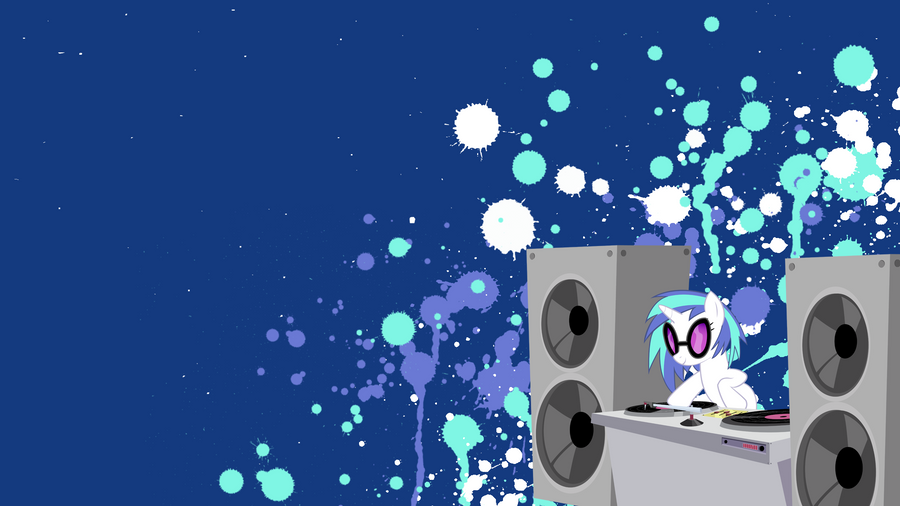 Vinyl Scratch Wallpaper by stimpyrules
