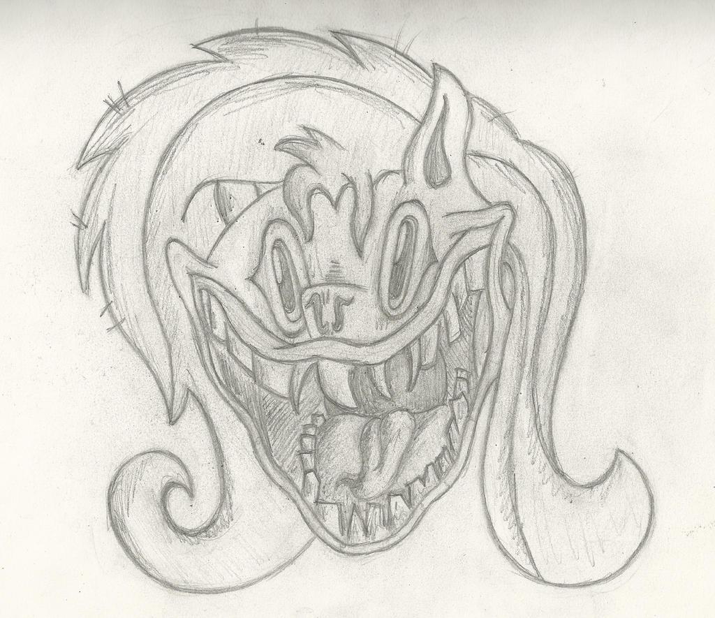 Pony Sketch - FlutterShed