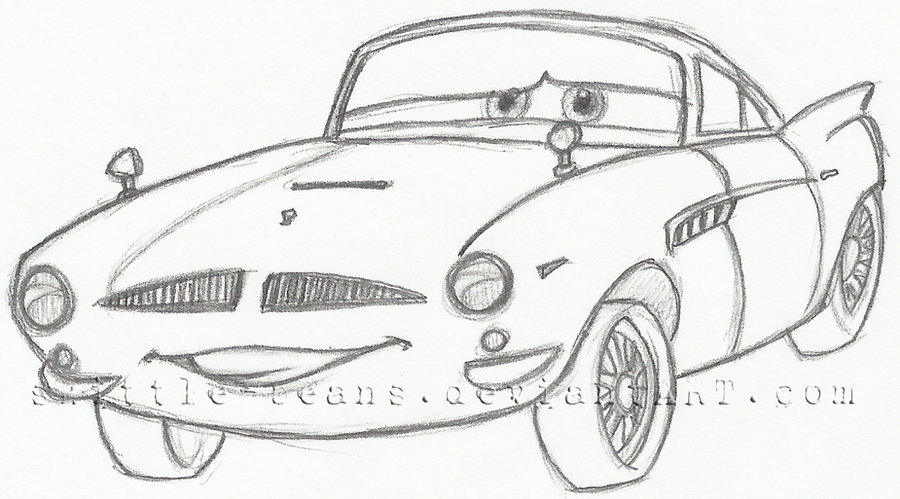 Cars Finn Mcmissile Coloring Page Sketch Coloring Page Finn Mcmissile Coloring Pages