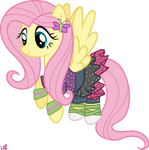 Fluttershy Pony - Dance Magic