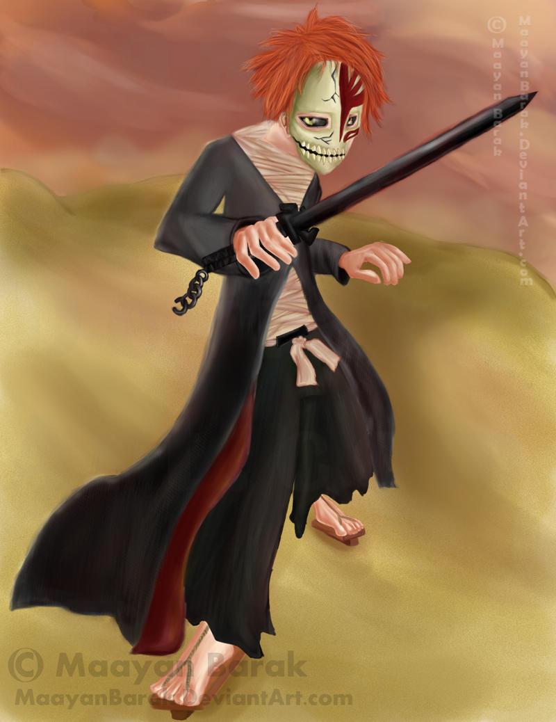 Vizard ichigo by maayanbarak on deviantart - Ichigo vizard mask ...