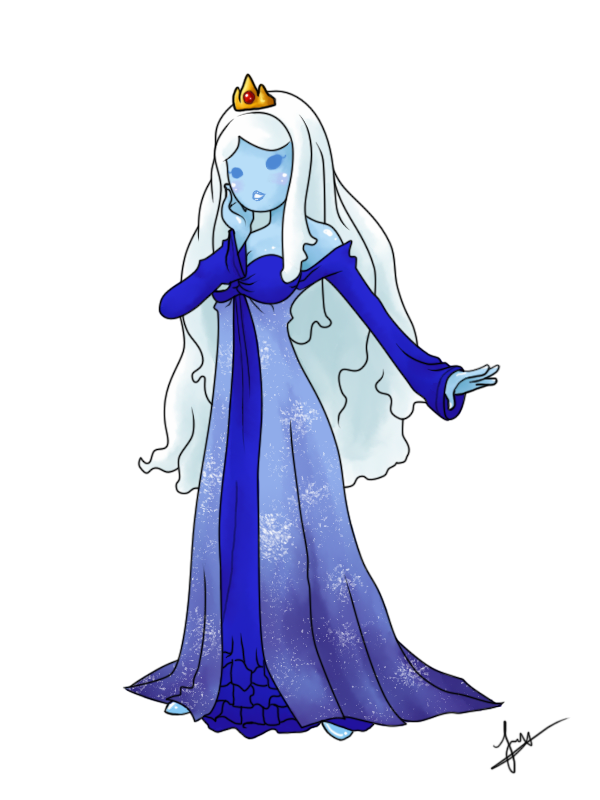 Art Trade: Frost Princess by kaguraroxmysox by psycho23