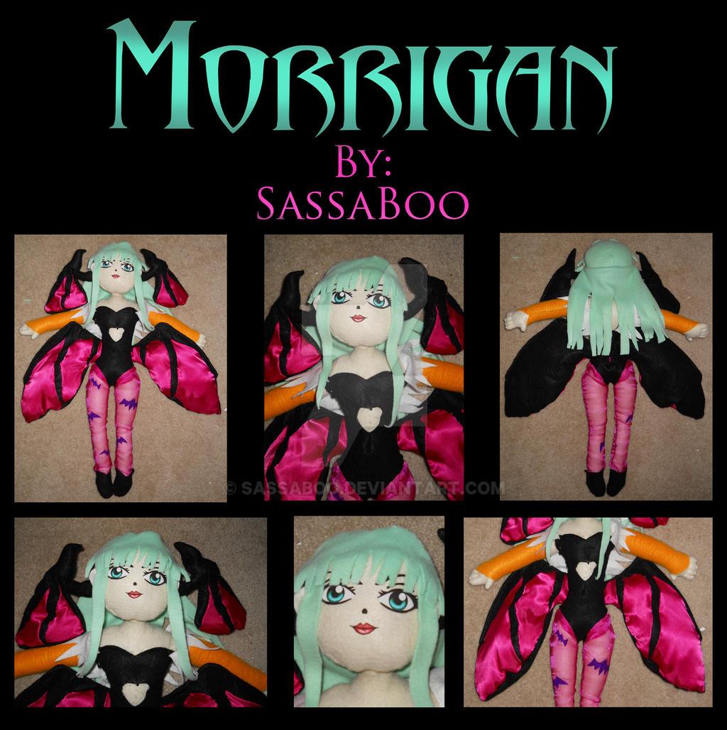 Plushie: Morrigan by Sassaboo