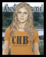 Alex Daddario as Annabeth by oceanstarlet