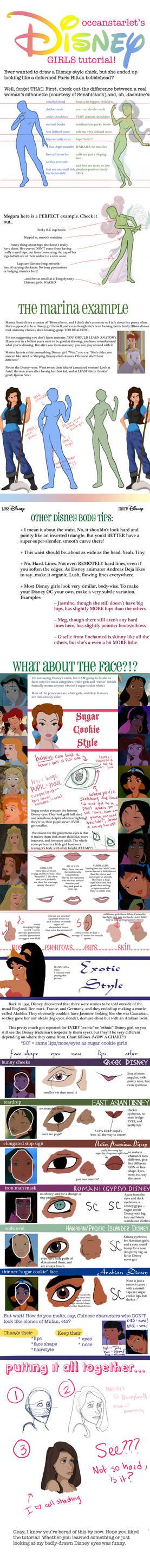 TUTORIAL: Disney Girls