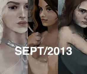 a few works in progress