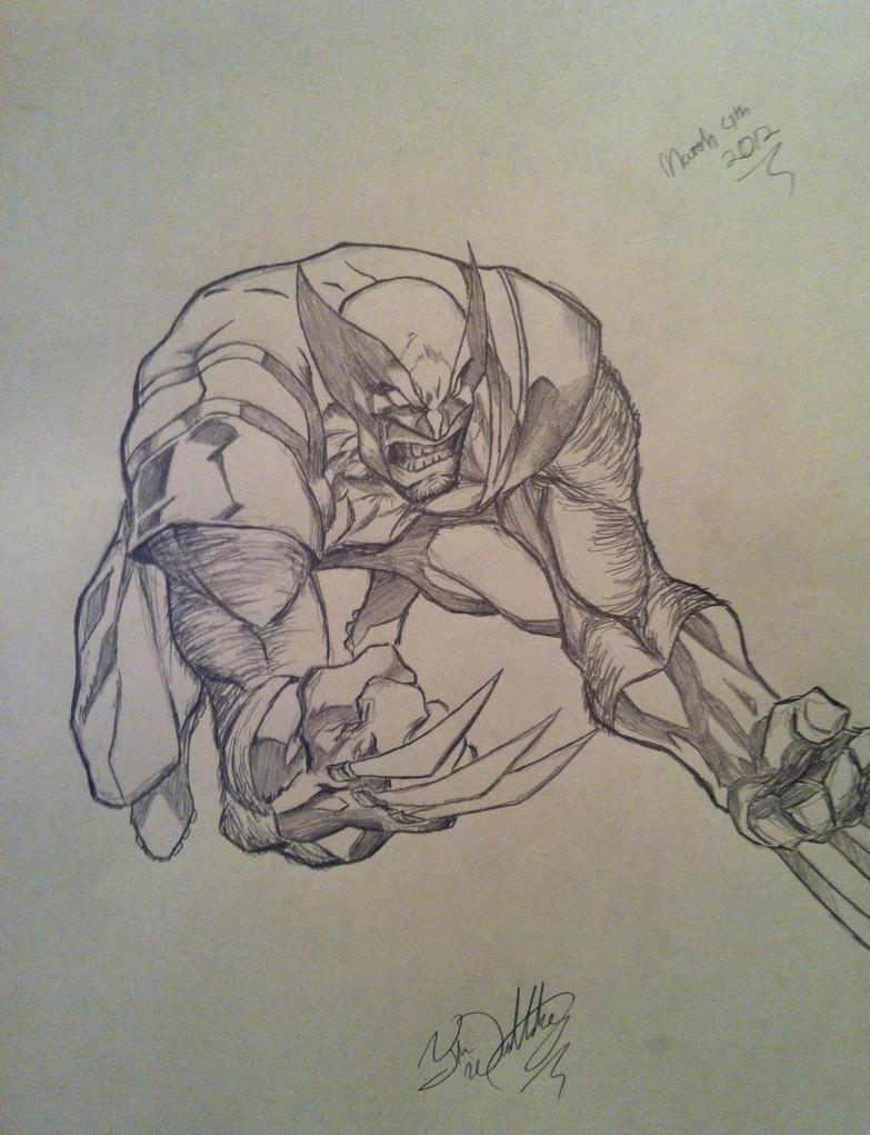 Wolverine by DeVianThaI