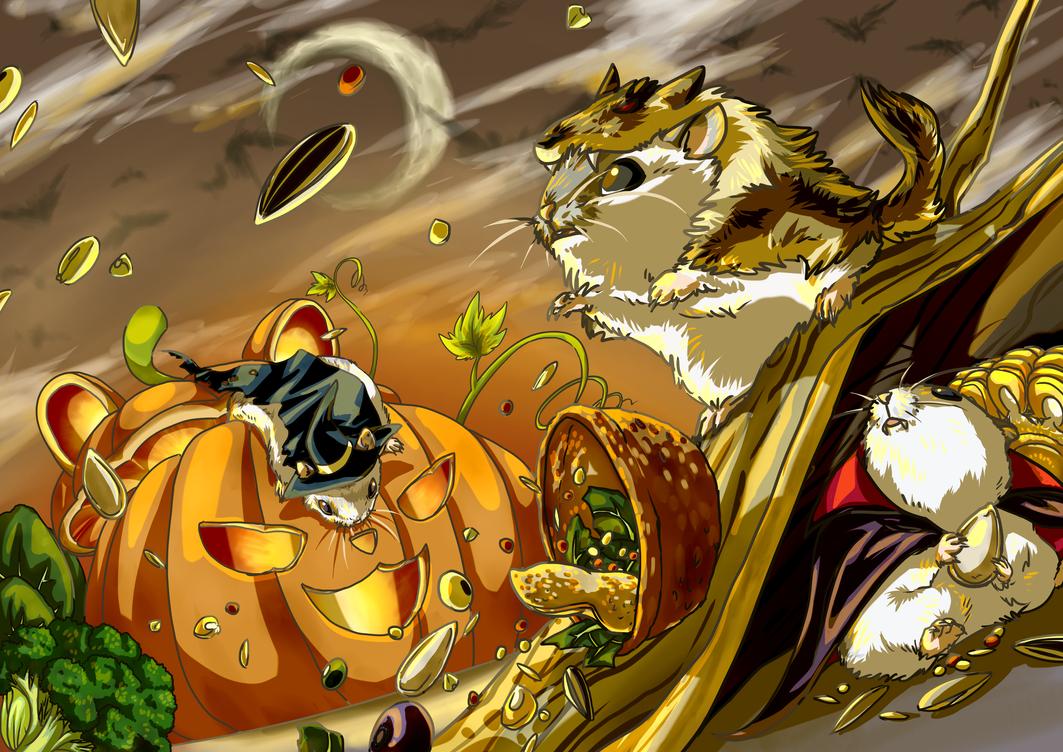 Happy Halloween 2014 by aconite-pawlove
