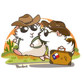 Texas Peegs by Pawlove-Arts