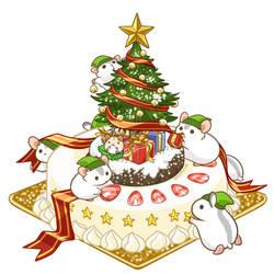 Merry Christmas 2017 by Pawlove-Arts