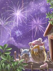 New Year 2018 by Pawlove-Arts