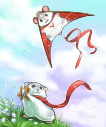 Kite by Pawlove-Arts