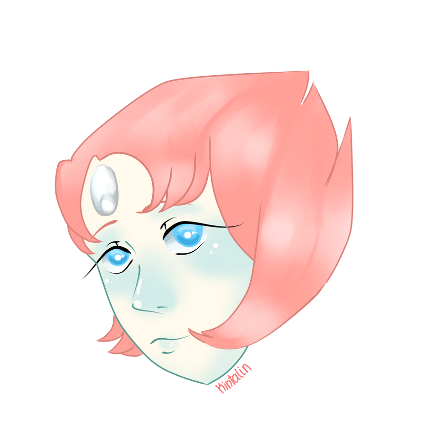 I'm trying to draw BC I have art block + I'm questioning my style again. Oops?? Tried to draw Pearl.