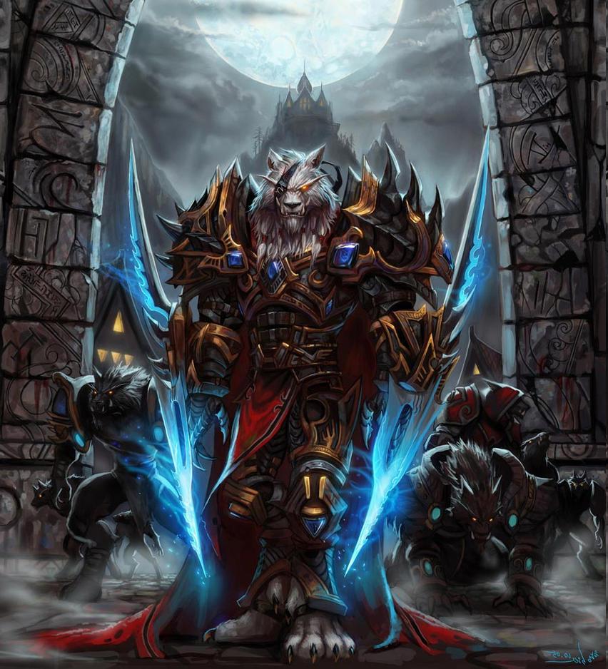 wargen warrior by kynthillis