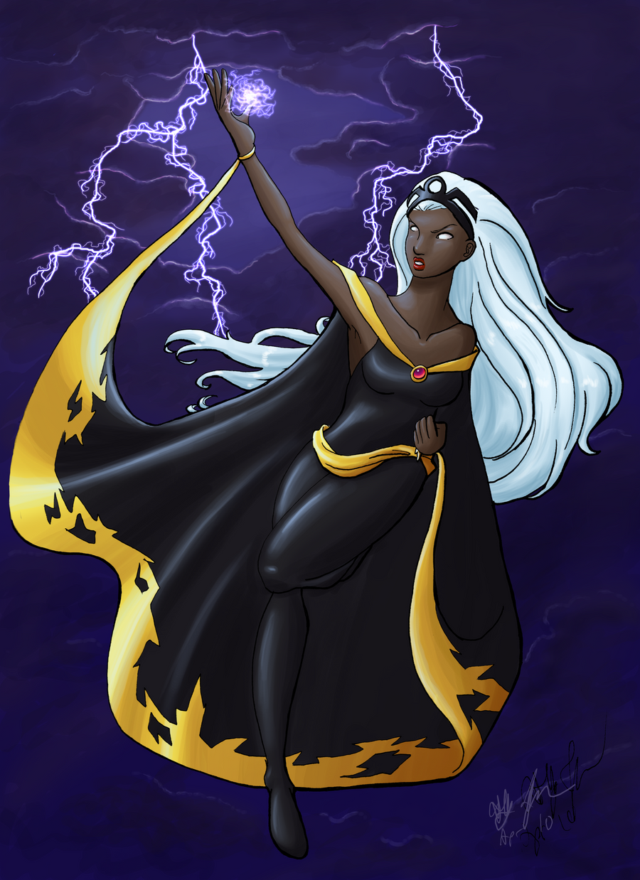 X-Men: Power of the Storm by lethalfairy on DeviantArt