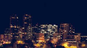 Bellevue at night