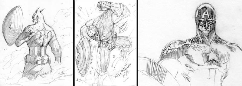 Art Jam Captain America 1-3-07