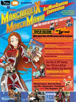 Mangaholix Manga Mania poster