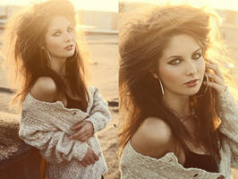 Sunny girl by fitusia