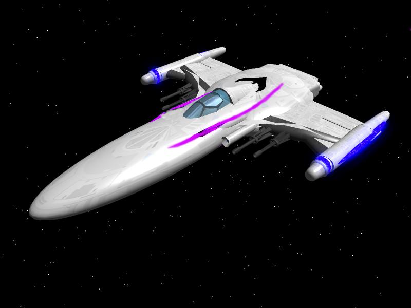 Astro Fighter Type 2 by SpartaN-PhoeniX