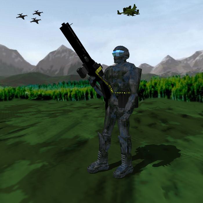K.O.P. Standard Armor by SpartaN-PhoeniX
