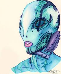 Abraham Sapien by Ocarina-Witch