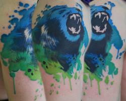 Lion Splatter by joshing88