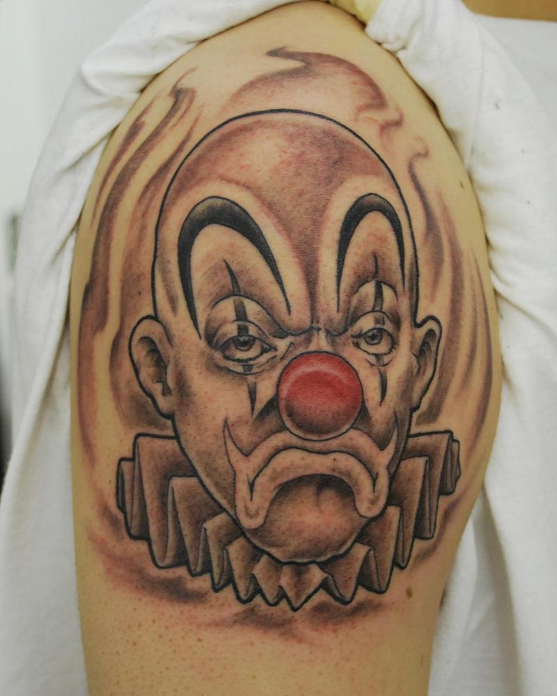 Joker tattoo by joshing88