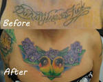 Lovebirds and Orchids chest cover