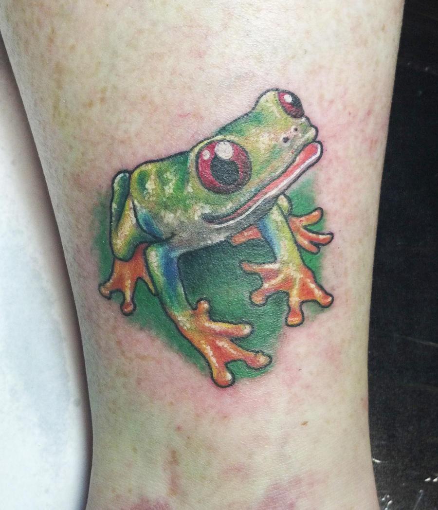 Tree Frog Tattoo By Joshing88 On DeviantArt