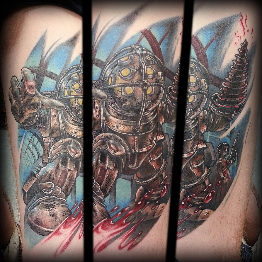 Bioshock Tattoo by joshing88