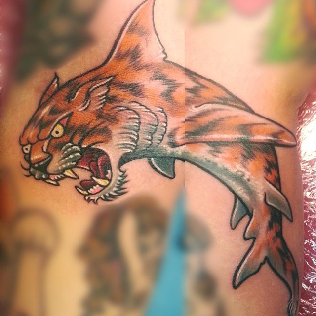 Tiger shark tattoo bad ink - photo#55