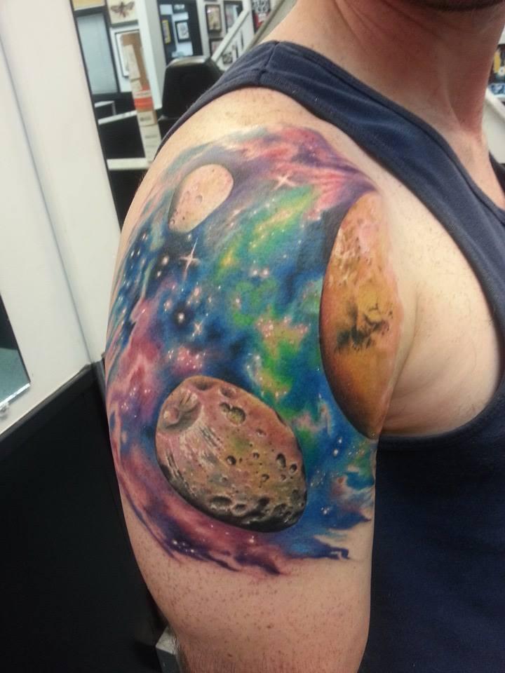 planets deviantart tattoo - photo #3