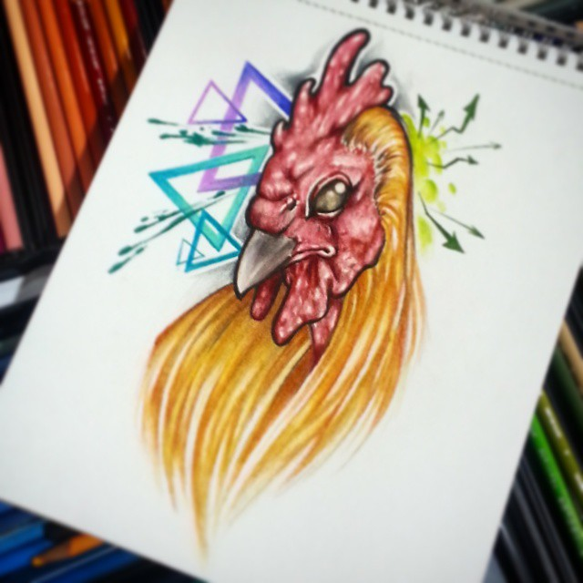 Cock drawing by joshing88 on deviantart - Cock designing ...
