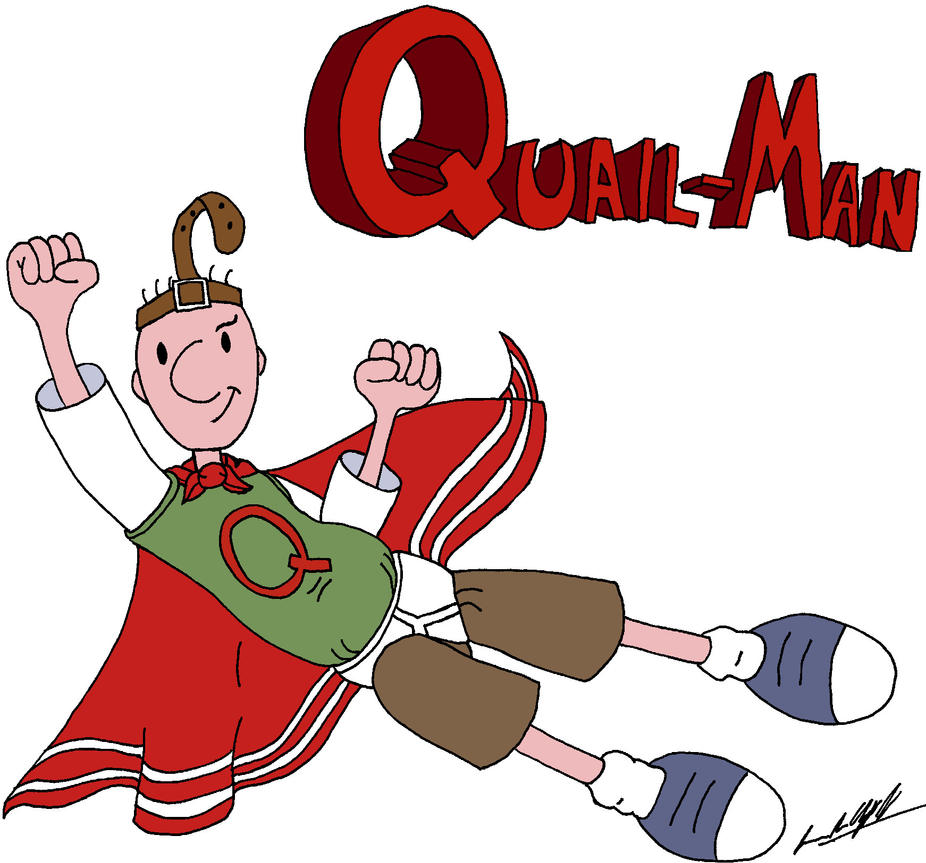 Quail-Man by infrafan on DeviantArt Quailman