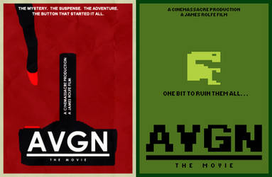 AVGN Movie Minimalist Poster Set by infrafan