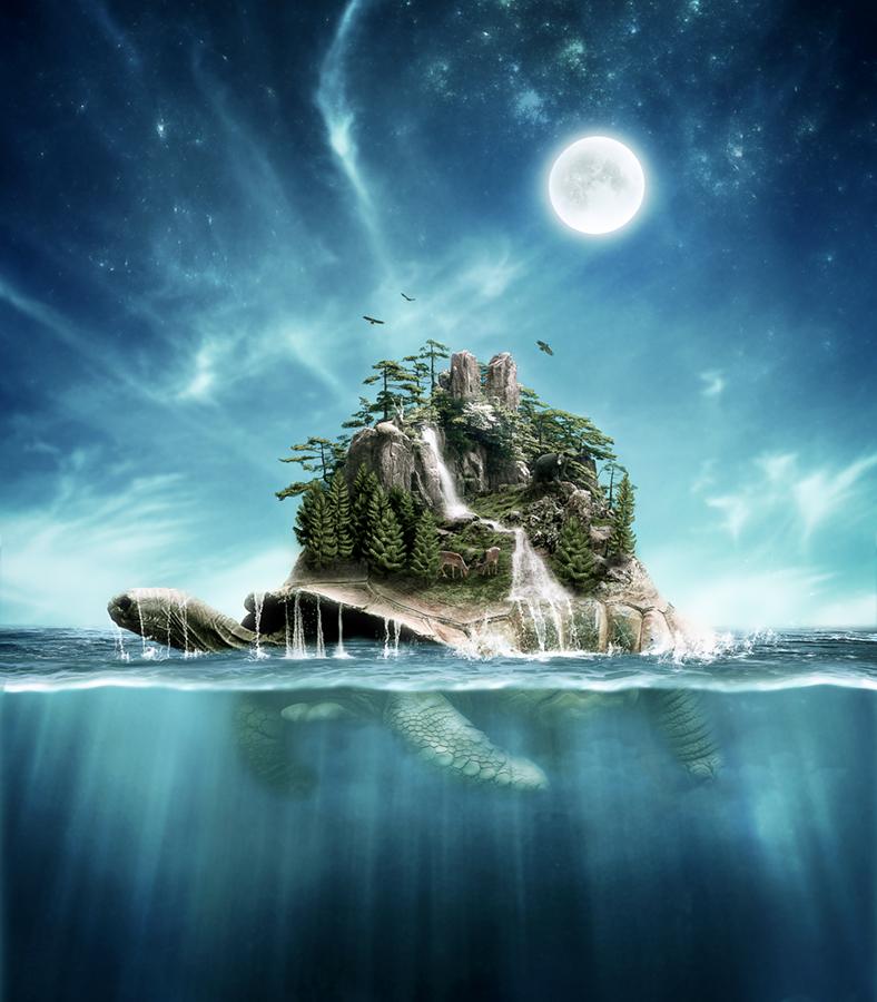 A world creation myth