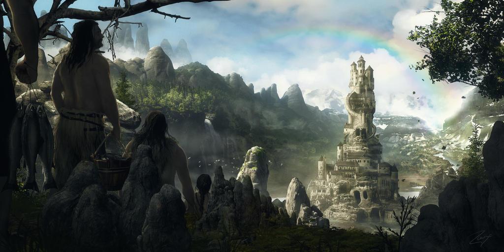 Path to Utgard by Rowye