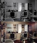 Barber Shop (Photo restoration) by Rowye