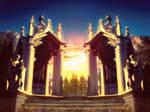 [Premade Background] Altar Freebie