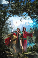 The Three Adventurers by Rowye