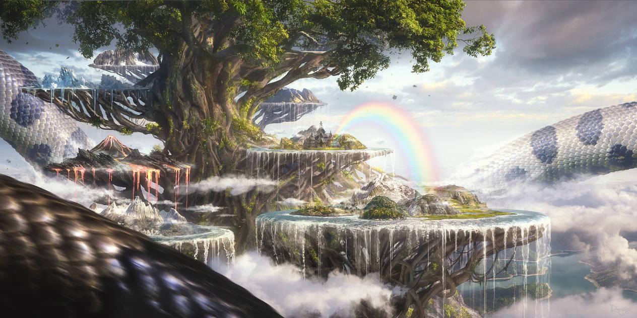 Yggdrasil by Rowye
