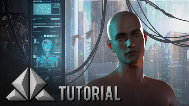 YouTube TUTORIAL - How I Render 3D Characters