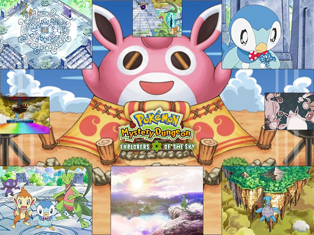 Pokemon Mystery Dungeon 3 wp by kleinespika