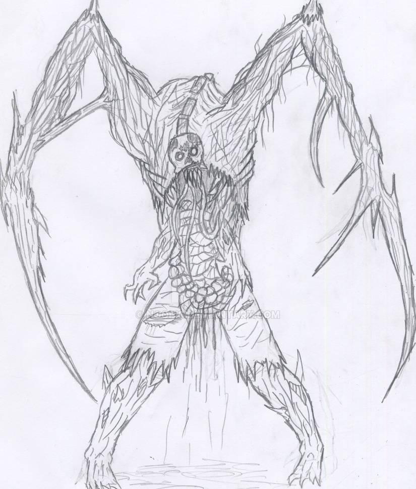 dead space necromorph slasher by noopis on DeviantArt