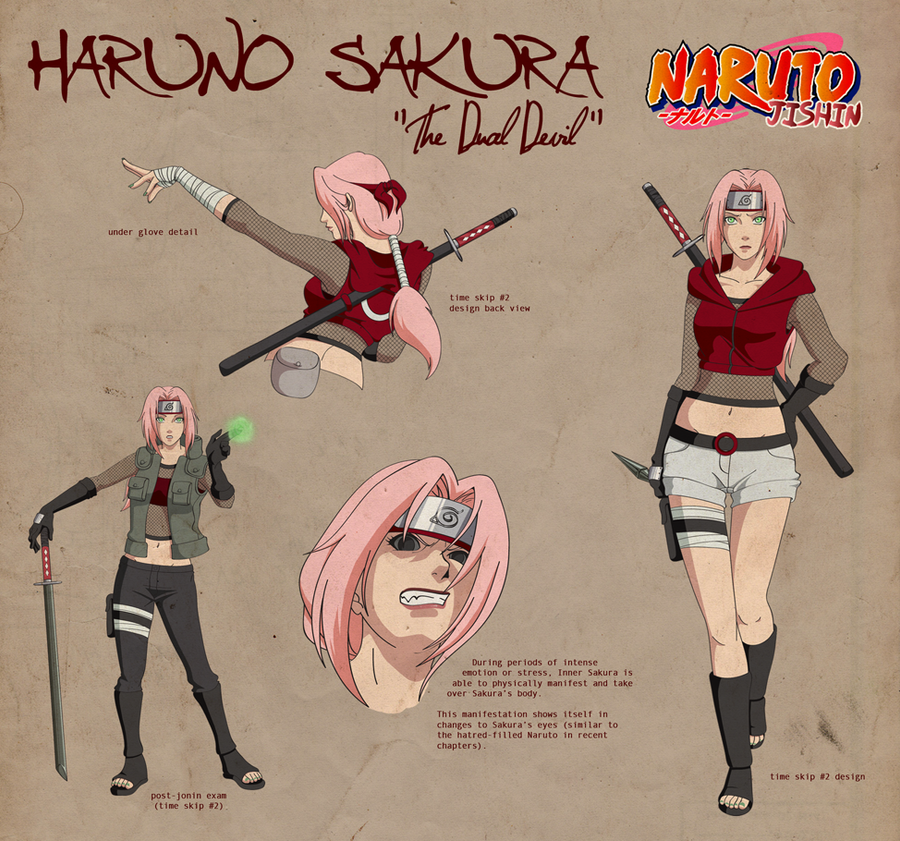 Naruto: Jishin  Haruno Sakura by Soul4Projektion on DeviantArt