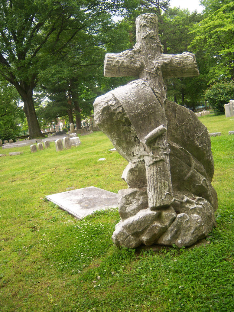 Cross.Rock.Tombstone by LKD-Stock