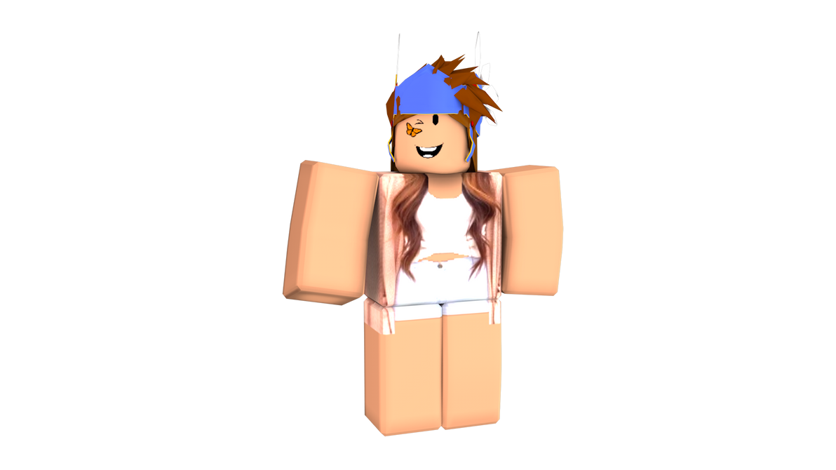 Roblox Random Girl Render. by JonathanTran0409GFX on ...