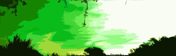 Green sky- remake by Irishlady