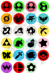 Super Smash Brothers Melee / Brawl Buttons